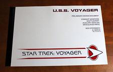 Star Trek U.S.S. Voyager Preliminary Starship Design Document