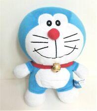 "Doraemon Anime Blue Smiling Cat  8""  Soft Toy Plush Comforter Excellent"