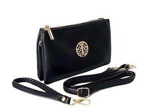 Ladies Small Clutch Bag Large Purse Card Holder Long Wallet Cross Body Handbag