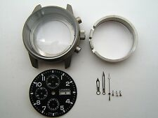 CHRONOGRAPH LANDERON TITANIUM DIAL HANDS FOR MOVEMENT VALJOUX 7750 SWISS