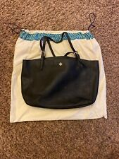 NWT Tory Burch Emerson Small Buckle Tote Shoulder Bag , Black