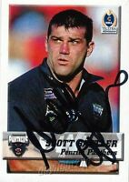 ✺Signed✺ 2002 PENRITH PANTHERS NRL Card SCOTT SATTLER Daily Telegraph
