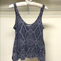 H&M Womens Tank Top Conscious Sleeveless Flare Top Blouse Shirt Size XS