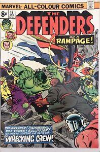 The Defenders #18 - 1st Full Wrecking Crew - Marvel Comics