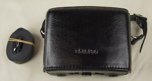 Back Again Black Hard Leather Case for Rollei 35 Cameras Free Shipping!
