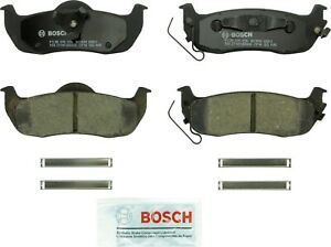Disc Brake Pad Set-Quietcast Ceramic Pads with Hardware Rear Bosch BC1041