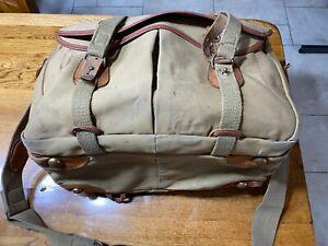 Vintage Billingham Bag canvas & leather camera bag, used