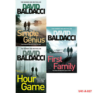 David Baldacci King and Maxwell series 3 Books Collection Set