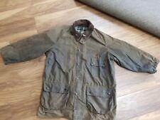 Mens Barbour Solway Zipper Wax Jacket