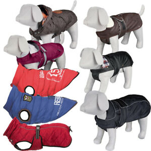TRIXIE Kleidung Mantel Hunde Hundekleidung  Hundemantel viele Muster