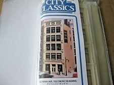 City Classic #102 Penn Avenue Tile Front Building Kit HO-Scale