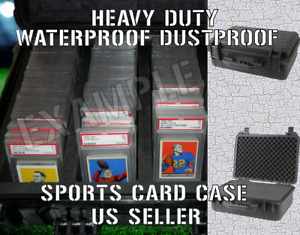 Graded Card Storage Box Display Case Holder Waterproof Lot PSA BGS Pelican Like