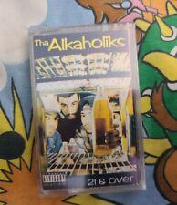 Tha Alkaholiks - 21 & Over - cassette tape - new old stock original plastic