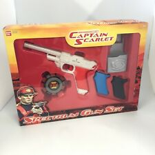 New Gerry Anderson Captain Scarlet Spectrum Gun Set Boxed by Bandai 30042 CP