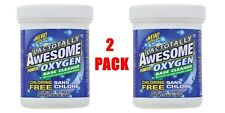 Lot 2 LA's Totally Awesome Oxygen Base Oxy Cleaner Crystals Granular Power 16 oz