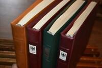 Vier Lindner-T-Vordruckalben Bund 1949-1999 mit postfrischer** Bund-Sammlung (8)