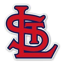"St Louis Cardinals   "" StL ""  Precision Cut Decal / Sticker"