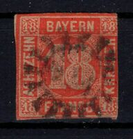 G128663 / GERMAN OLD STATES / BAVARIA / MI # 13 USED CV 250 $