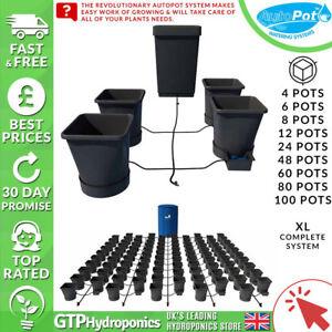 Autopot XL Complete System - 4/6/8/12/24/48/60/80/100 25L Pots + Tank + Parts