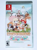 Story Of Seasons Friends Of Mineral Town Nintendo Switch Game XSeed New Sealed