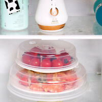 Reusable Ventilated Microwave Splatter Clear Cover Protector Steam Fridge Guard