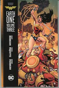 WONDER WOMAN EARTH ONE Vol 3 HC Grant Morrison, Yanick Paquette MINT!