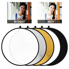 5 in 1 Photography Multi-Disc Collapsible Light Reflector Photo Studio Shooting