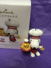 Hallmark 2011- HAPPINESS IS WARM COOKIE- Peanuts Gang-Snoopy MIB