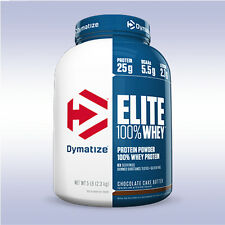 DYMATIZE NUTRITION ELITE WHEY PROTEIN (5 LB) iso mass 100 gainer super carnitine
