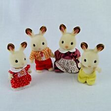 Calico Critters Hopscotch Bunny Family 4 Pieces