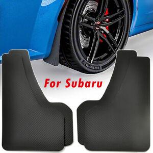 For Subaru Impreza WRX STI Legacy Rally Mud Flaps Splash Guards Mudflap Mudguard
