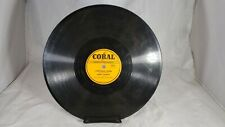 78rpm KENNY ROBERTS Hillbilly Coral Lot of 4 78 Records.