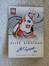 Calgary Flames Lee Stempniak 11/12 Panini Elite Signings Auto Card