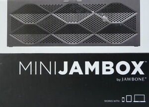 MINI JAMBOX - Graphite Facet. Wireless Speaker & Speakerphone. SEALED
