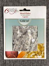 Creative Concepts Silver Metal Flakes 5 Grams Gild It! Guilding Appliqué NEW