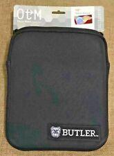 "OTM Essentials Butler University NCAA 10"" Inch Black Zip Up Tablet Sleeve Cover"