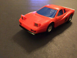 1/43 Slot Car Exotic Ferrari Testarossa Red