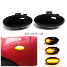 LED Dynamic Signal Side Marker Light For Peugeot 307 206 607 407 107 For Citroen