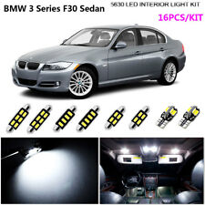 16Pcs HID White 6000K Interior Light Kit LED For 2011-2016 BMW 3Series F30 Sedan