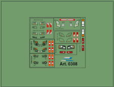 H0/1:87 DIS0308 Decals• Frontscheinwerfer und Rücklichter für versch. Modelle