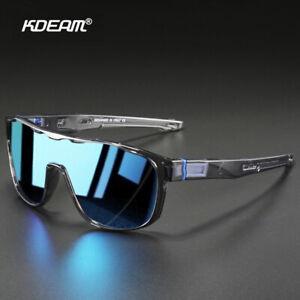 KDEAM Oversized Polarized Sunglasses Men Women Sport Driving Fishing Goggles