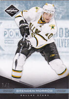 11-12 Limited Brenden Morrow 1/1 Platinum Spotlight 2011 Panini