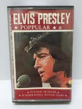 Elvis Presley Pop Hits It's Now Or Never Rare Singapore Cassette Not EP LP CT193