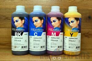 1 litre Inktec Sublinova Smart Sublimation Ink 4 / 6 / 8 Colour - Epson Printers