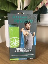 Gaiam Restore Strength & Flexibility Kit Resistance Band X 3 Yoga Pilates