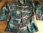 USMC Army Military Camouflage Shirt Size Small