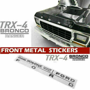 """ FORD""Metal Emblem logo Replacement for CChand 1/10 TRAXXAS TRX-4 Bronco Body"