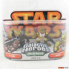 Star Wars Galactic Heroes 4-Lom and Bossk bounty hunters 2-pack orange packaging
