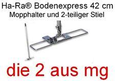 ORIGINAL HA-RA BODENEXPRESS MIT 2-TLG. STIEL, 42 CM UNIVERSALGRÖSSE BODENWISCHER