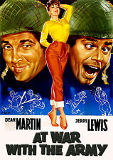 At War With The Army (1950) DVD Dean Martin, Jerry Lewis, & Mike Kellin